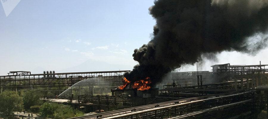 այրվող գործարան