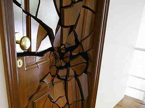 երազահան կոտրված դուռ